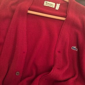 Vintage Lacoste Button Down Sweater